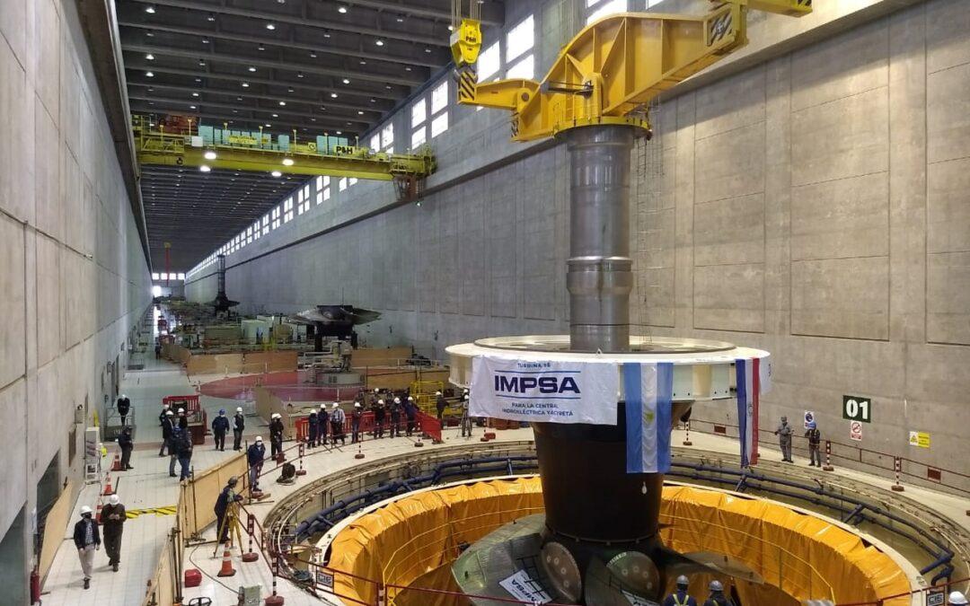 Successful Prototype Test son IMPSA Turbines for Yacyretá