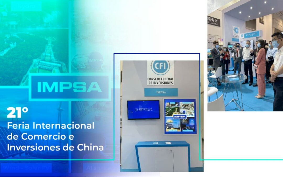 IMPSA at the 21st International Trade and Investment Fair in China